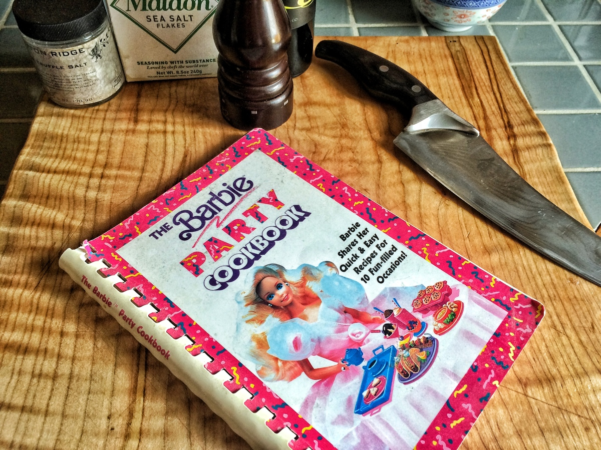 Food Coma Book Review: The Barbie Party Cookbook